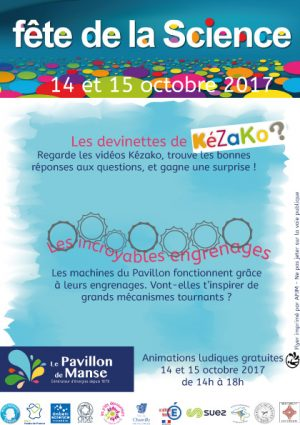 fete de la science pavillon chantilly enfants