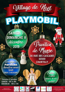 village de noel playmobil