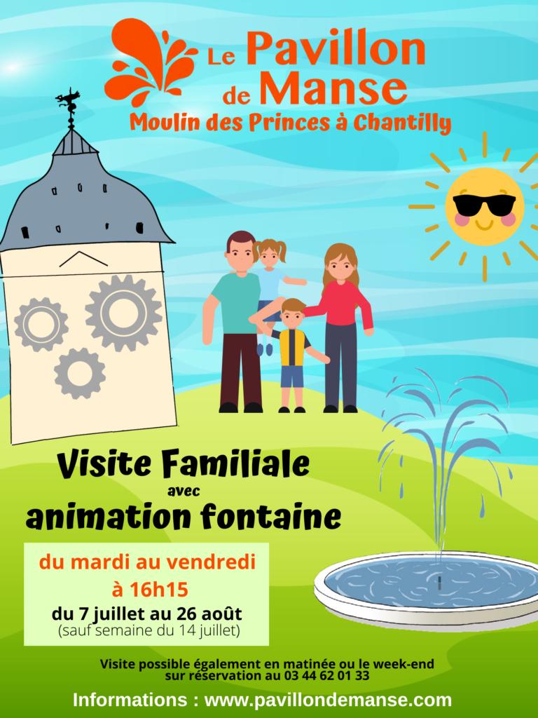 affiche visite familiale